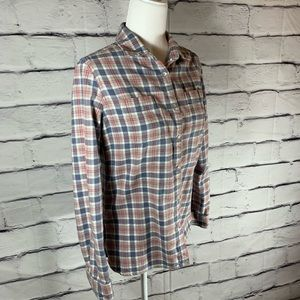 {Woolrich} cotton flannel shirt